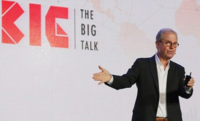 尼古拉斯·尼葛洛庞帝谈数字化发展--科技改变人类进程