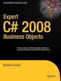 Expert C# 2008 Business Objects - pdf -  电子书免费下载
