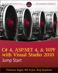 C# 4, ASP.NET 4, and WPF, with Visual Studio 2010 Jump Start - pdf -  电子书免费下载