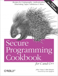 Secure Programming Cookbook for C and C++ - pdf -  电子书免费下载
