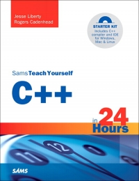 Sams Teach Yourself C++ in 24 Hours, 5th Edition - pdf -  电子书免费下载