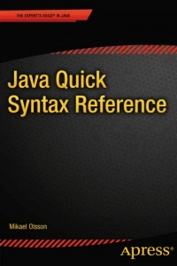 Java Quick Syntax Reference - pdf -  电子书免费下载