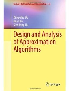 Design and Analysis of Approximation Algorithms - pdf -  电子书免费下载