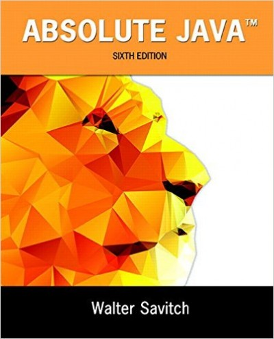 Absolute Java, 6th Edition - pdf -  电子书免费下载
