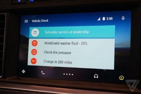 Google开发基于安卓新车载系统